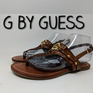 G by Guess 7 1/2 M saddle sandals